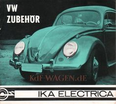 VW - 1968 - VW Zubehör. IKA Electrica - [6618]-1