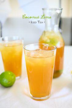 Coconut Lime Tea on kleinworthco.com
