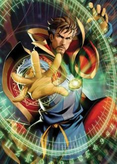 Doctor Strange is a key part of Marvel. With his socerery and time-being powers Doctor Strange is proving himself an unexpected MVP! Arte Dc Comics, Marvel Comics Art, Marvel Avengers, The Stranger, Comic Book Characters, Marvel Characters, Comic Books Art, Comic Art, Marvel Universe