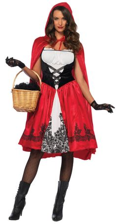 Women's Red Riding Hood Costume
