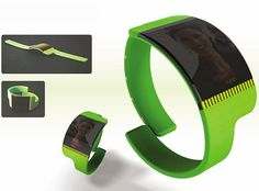 Kokoro wearable cellphone keeps working parents in touch with kids   Designbuzz : Design ideas and concepts