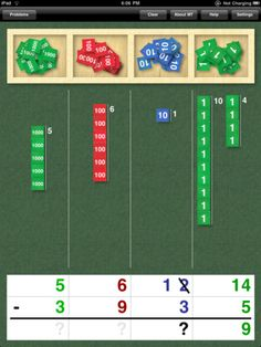 Stamp Game $4.99- Learn to perform 4-digit addition and subtraction- visual representation of carrying and borrowing.