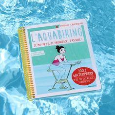 Livre Aquabike waterproof  L'aquabiking #aquagym #livre #flottant #étanche #sport #natation #waterproof #piscine #pool