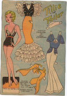 Tillie the Toiler by Iva Mae Brown