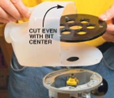 Milk Jug Dust Collection - Popular Woodworking Magazine . . Take a 1-gallon milk jug and cut a hole in one side for a bit. Slice off the bottom & cut back the three other sides so they line up with the centerline of your router shaft. Push a 1-in. vacuum hose onto the neck of the jug