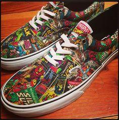 Marvel Comics x Vans Era
