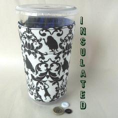 Haunted Mansion Coffee sleeve Disney cup cozy by DeegeeMarieGifts