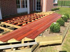 Terrasse en bois surélevée : étape 13