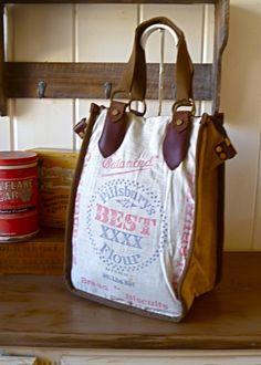Flour Sack Tote $80