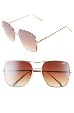 0a72f379b1ca Quay Australia Stop   Stare 58mm Square Sunglasses available at  Nordstrom