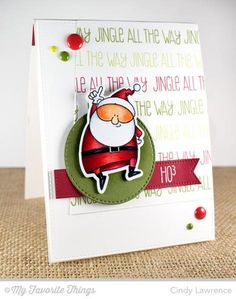 Jingle All the Way by One Happy Stamper - Cards and Paper Crafts at Splitcoaststampers