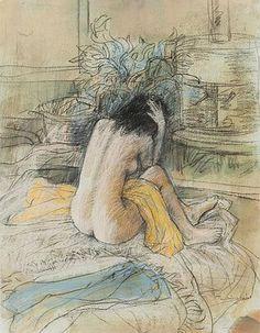 Seated nude. William Boissevain