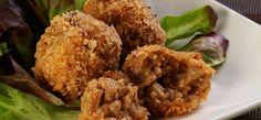 Adoballs | Nestle Club Recipes Filipino Recipes, Filipino Food, Kiss The Cook, Bon Appetit, Tapas, Cauliflower, Muffin, Appetizers, Nutrition