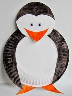 Penguin kid craft this too cute!!!