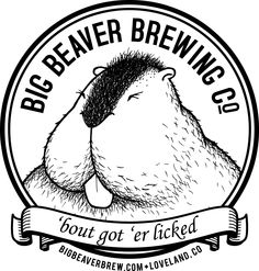 This is a real logo for a brewery in Colorado - could it be any more suggestive?