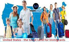 #UnitedStates - the Great Land for #Immigrants. #morevisas     https://www.morevisas.com/usa-immigration/united-states-the-great-land-for-immigrants/