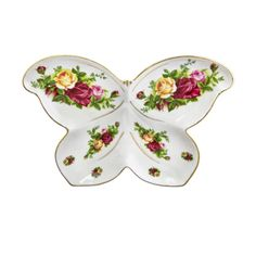 Royal Albert - Old Country Roses Butterfly Dish