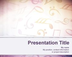Sheet Music Background for PowerPoint