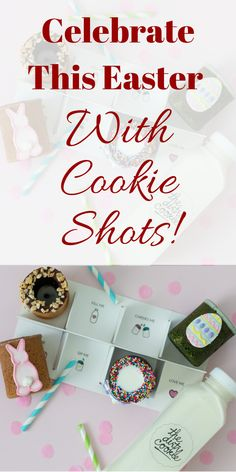 Easter Cookie Shots to Start Your Spring 🌸 Easter Gift For Adults, Easter Baskets For Toddlers, Easter Baskets To Make, Baby Easter Basket, Easter Desserts, Easter Treats, Healthy Desserts, Cookie Shots, Dessert In A Mug