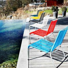 For Wonderful Hours In Your Garden: The Altorfer Lounge Set By #Embru Is