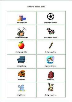 Játékos tanulás és kreativitás: Tömegmérés játékosan School
