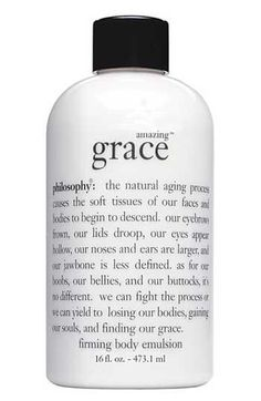Philosophy Amazing Grace body lotion just smells clean, like you just washed your hair. Not overpowering at all.