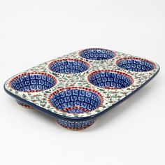 Polish Pottery Muffin Pan 1543 >>> Check out the image by visiting the link.(This is an Amazon affiliate link and I receive a commission for the sales)