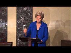 Sen. Elizabeth Warren Calls for Amendment to Overturn Citizens United - YouTube