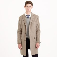 $470 thinsulate; J.Crew - Ludlow topcoat in wool-cashmere