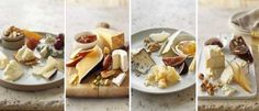 I LOVE cheese plates. An easy but elegant way to entertain, and it pairs well with wine or beer. This gives you a variety of combinations to choose from.
