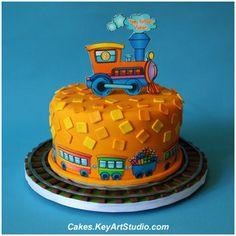 Train Cake by Cakes.KeyArtStudio.com, via Flickr