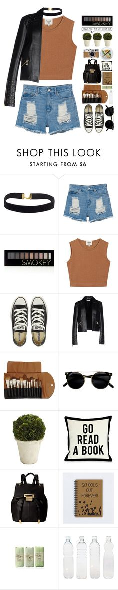 """""""~Smokey~"""" by amethyst0818 ❤ liked on Polyvore featuring Monki, Forever 21, Samuji, Converse, Versace, Claudio Riaz, Hermès, Pier 1 Imports, One Bella Casa and Ivanka Trump"""