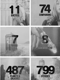 Doctor Who by the numbers #DoctorWho