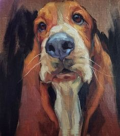 54 Oil Painting With Dog Drawing Ideas - Art Dog Portraits, Portrait Art, Portrait Ideas, Animal Paintings, Animal Drawings, Art Plastique, Dog Art, Painting Inspiration, Dachshund