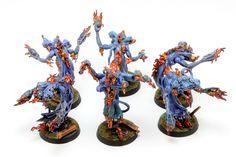 Tzeentch Flamers  http://www.tinyarmies.org/en/2013/05/11/tzeentch-flamers/