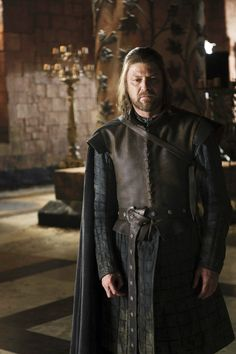 Sean Bean as Lord Eddard 'Ned' Stark - Game of Thrones S1