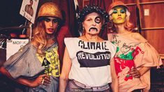 A new exhibition at the Fashion Textile Museum celebrates the subversive and socio-political power of the T-shirt Vivienne Westwood, Slogan Tshirt, T Shirt, Fashion Moda, Fashion News, Slow Fashion, Textile Museum, Textiles, Ethical Fashion