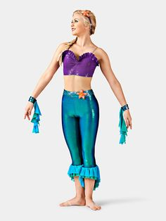 Biggest dancewear mega store offering brand dance and ballet shoes, dance clothing, recital costumes, dance tights. Shop all pointe shoe brands and dance wear at the lowest price. Aerial Costume, Dance Tights, Recital, Dance Outfits, Dance Costumes, Bra Tops, Dance Wear, The Little Mermaid, How To Wear