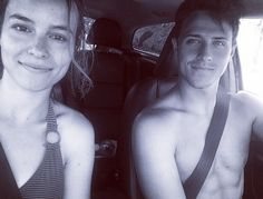 Shane Harper And Bridgit Mendler's Adorable Beach Date