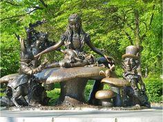 Alice in Wonderland, Central Park, NYC