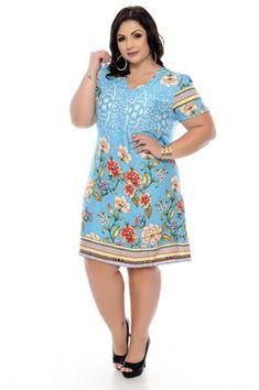 Vestido Plus Size Keulya Plus Size Short Dresses, Simple Dresses, Plus Size Outfits, Summer Dresses, Plus Size Fashion For Women, Plus Size Women, Island Outfit, Plus Size Clothing Stores, Vestidos Plus Size