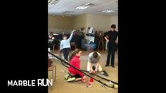 """The PHILS work on Rube Goldberg projects inspired by the """"OK GO"""" video."""