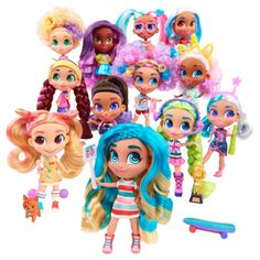 Toy Indoor Kids Girls Hairdorables Dolls Hairdorables - Collectible Surprise Dolls and Accessories: Series 1 (Styles May Vary) Multicolor and Bonus Sprinkle Donut Lipgloss Toys For Girls, Kids Toys, Kids Girls, Girl Dolls, Barbie Dolls, Barbie Sets, Big Hair Dont Care, Playing With Hair, Troll Dolls