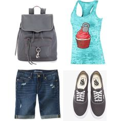 """""""Cute and Simple"""" by nachognat on Polyvore"""