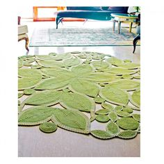An outdoor rug that looks stylish in the great indoors. Serenity Rug from Homespice's Botanica Collection. Braided Rugs, Types Of Rugs, Contemporary Rugs, Mold And Mildew, Indoor Outdoor Rugs, Beautiful Patterns, Serenity, Kids Rugs, Inspiration