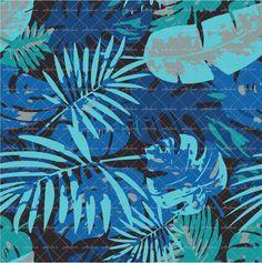 Tropical Leaf Floral @patternbank #textiledesign #womenswear #fashion #textiles #tropical #tropicalfloral #springsummer #floral #active #activewear #swimwear #patternbank www.patternbank.com/omlabel