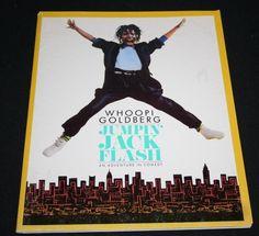 JUMPIN' JACK FLASH Film Press Kit Whoopi Goldberg picclick.com