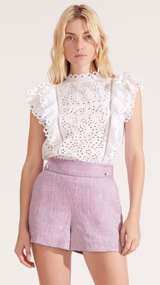 New Season Designer Womenswear | SS20 Designer Clothing | Atterley Best Online Stores, Online Fashion Stores, White Cotton Blouse, Cotton Blouses, Cute Dresses, Cute Outfits, Short Dresses, Pink Shorts, Lace Shorts