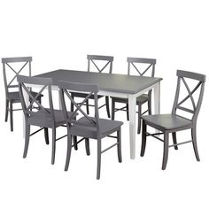 Found it at Wayfair - Lehigh Acres 7 Piece Dining Set