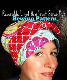 20cdadaf7ed62 Image result for Bouffant Surgical Scrub Hat Sewing Pattern Free  Instructions Scrub Hat Patterns